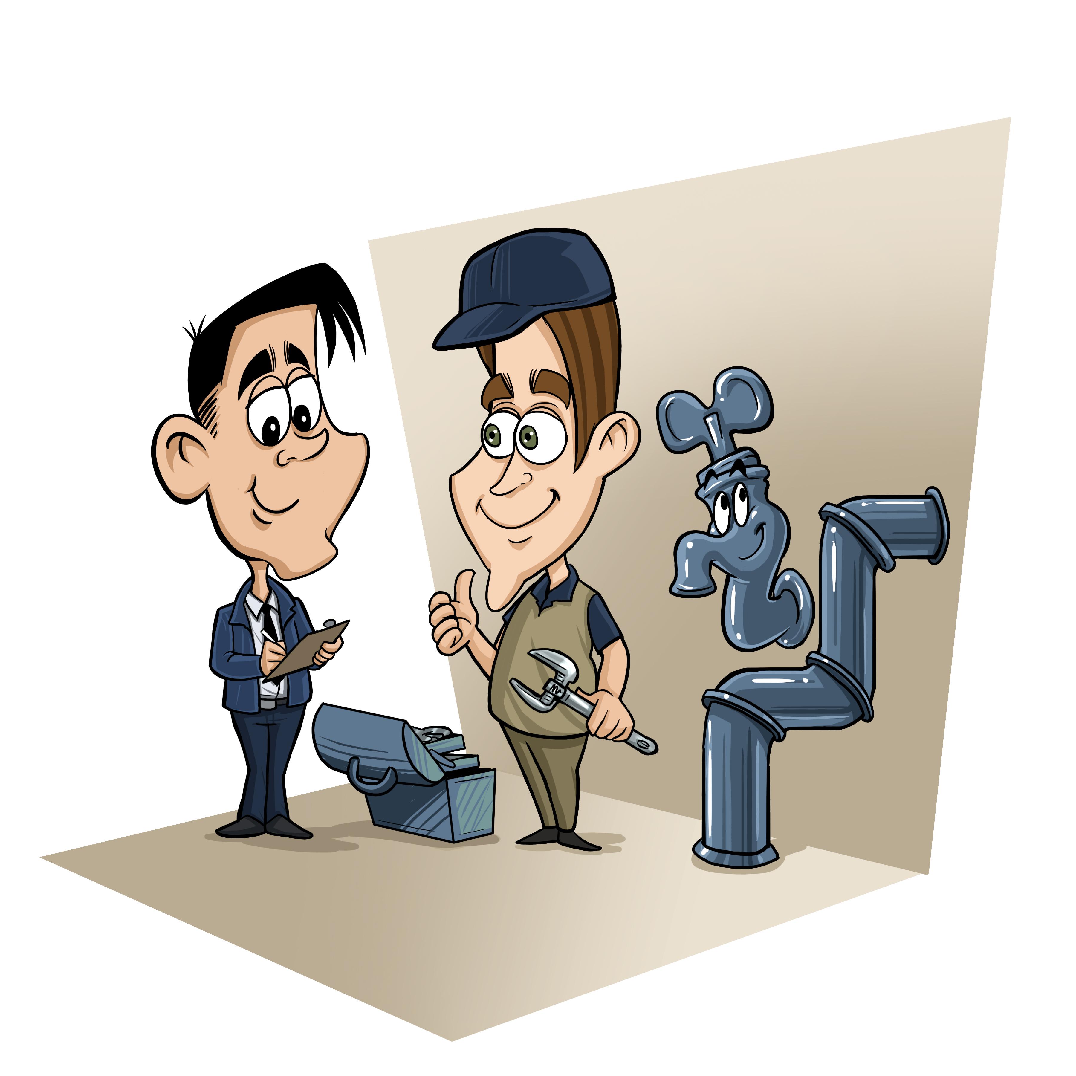 Caricatura - encomenda - empresas