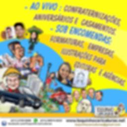 Caricatura - encomenda - Jundiai - presentes -  caricatura de familia -Toquinho Caricaturas 20