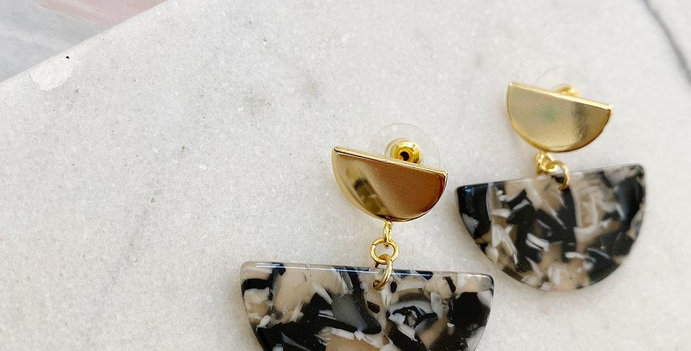 Chic BlackTortoise earrings