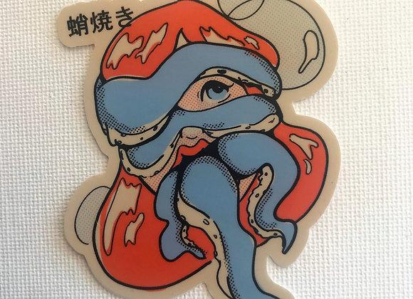 TAKOYAKI Vinyl Sticker