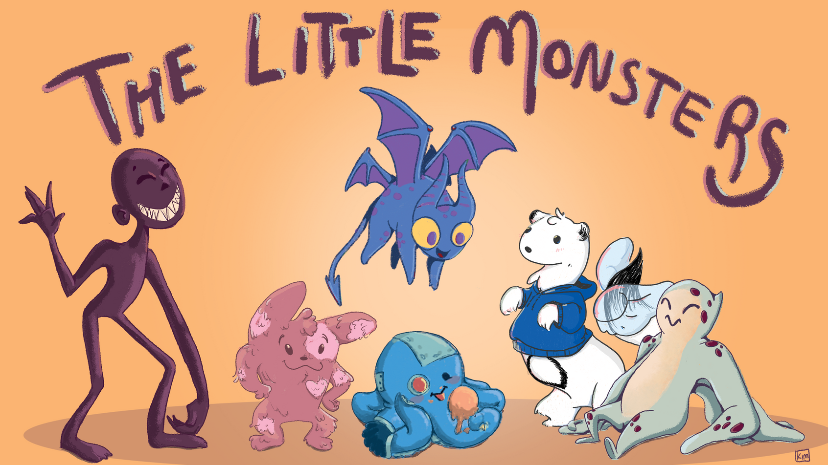 The Little Monsters Banner