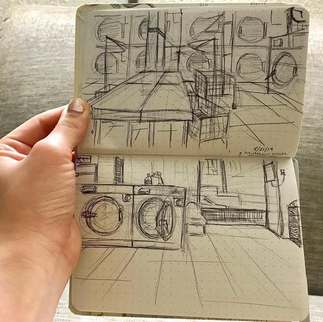 Laudromat Sketches