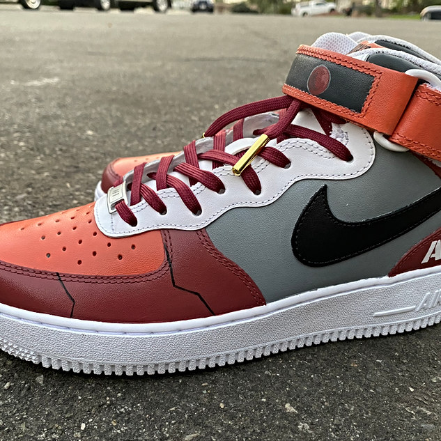 Char's Zaku Nike Air Force 1's