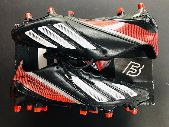 adidas F50 Adizero XTRX SG Black Leather UK Size 8.5