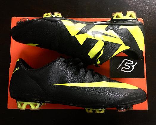 Nike CR7 Mercurial Vapor VII Football Boots – Black/Volt/Shadow Size UK 10.5