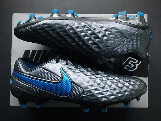 Nike Tiempo Legend VIII Elite FG Black / Hero Blue