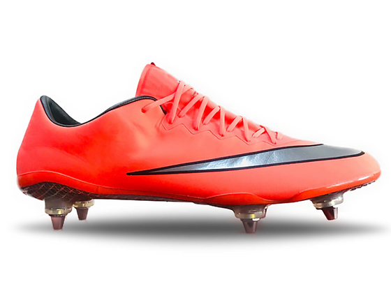 "Nike Mercurial Vapor X ""Metal Flash - Bright Mango"" SG Pro Fibre Glass"