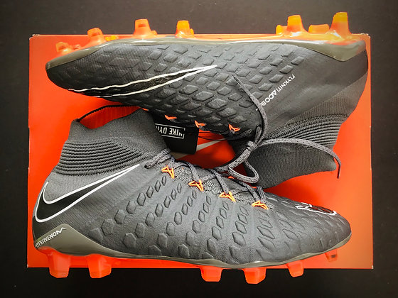 Nike Hypervenom Phantom 3 Elite FG Fast AF Grey / Orange / White