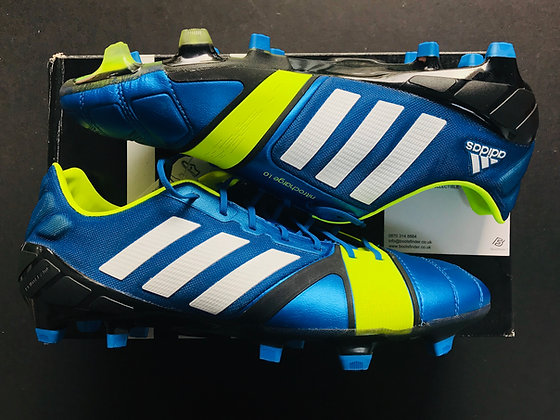 adidas Nitrocharge 1.0 Blue Beauty / Running White / Electricity FG