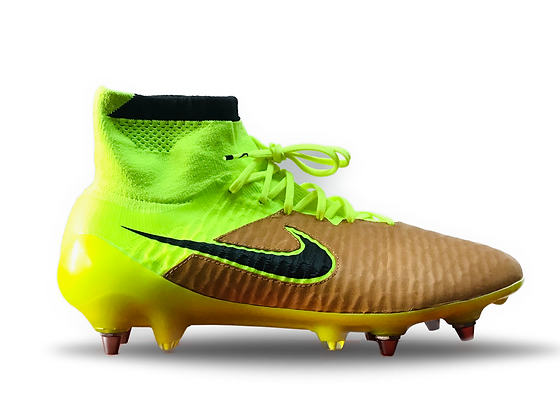 Nike Magista Obra SG Pro Tech Craft Leather Canvas / Volt