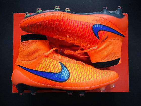 "Nike Magista Obra I ""Intense Heat Pack"" Orange / Purple / Black FG"