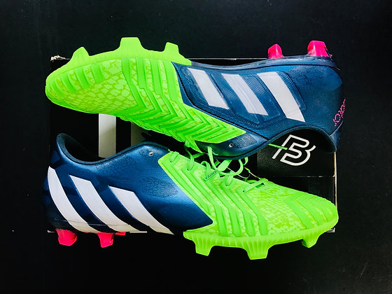 adidas Predator Instinct FG Rich Blue / Running White / Neon Green