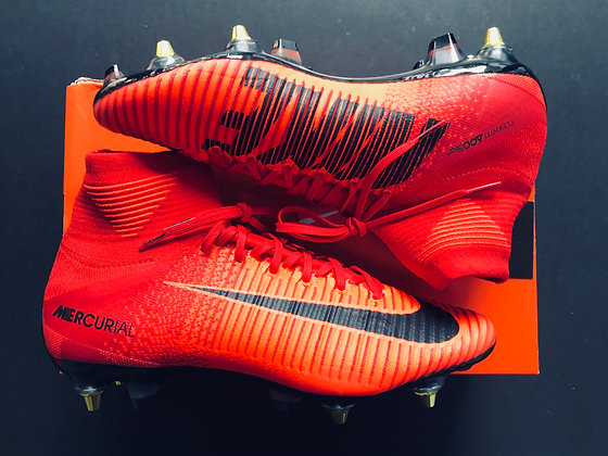 Nike Mercurial Superfly V SG Play Fire University Red / Black SG AC