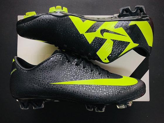 Nike CR Mercurial Vapor Superfly III Black / Volt / Dark Shadow Safari FG
