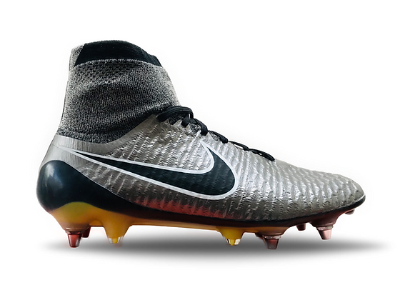"Nike Magista Obra I ""Liquid Chrome Pack"" Metallic Pewter / Black / White SG Pro"