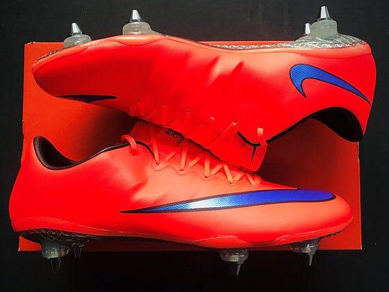 Nike Mercurial Vapor X Bright Crimson / Persian SG Pro Fibre Glass