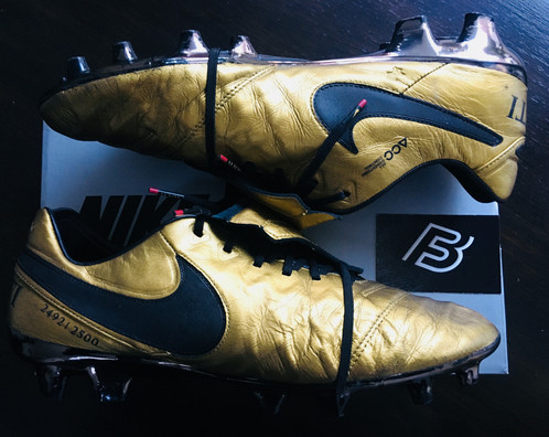 uk availability 4d677 54015 Nike LIMITED EDITION TIEMPO TOTTI X ROMA BOOTS SE FG Size 11