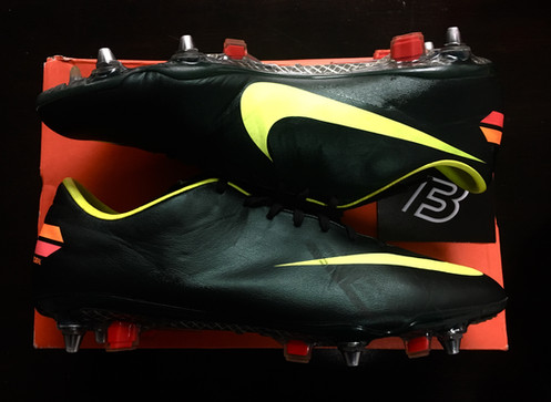 cb88f4c31 Nike Mercurial Vapor VIII Football Boots - Seaweed Volt Red - Size UK 10 SG