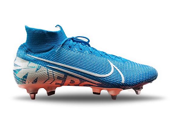 Nike Mercurial Superfly 7 Elite SG-PRO New Lights - Blue Hero/White