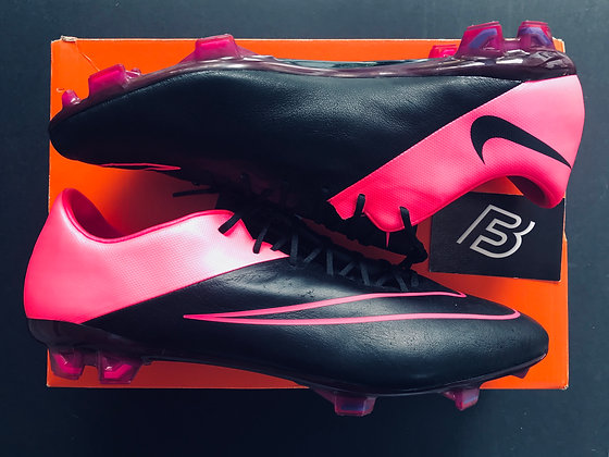 Nike Mercurial Vapor X Tech Craft Leather Hyperpink / Black UK Size 11