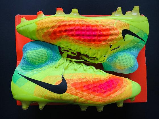 Nike Magista Obra II Heat Map Volt / Total Orange / Pink Blast / Black FG