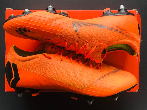 Nike Mercurial Vapor XII Elite - Total Orange / Black / White SG PRO UK Size 10