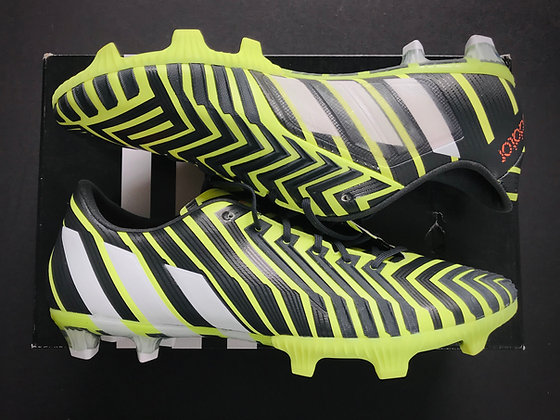 adidas Predator Instinct Light Flash Yellow / Black / White FG