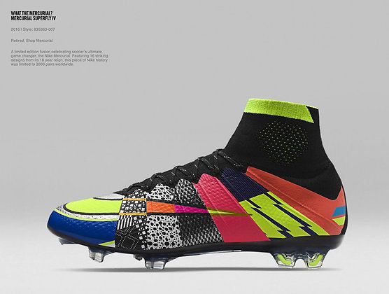"Nike Mercurial Superfly IV ""What the"" FG - Various Sizes"