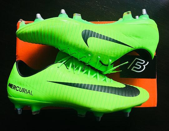 Nike Mercurial Vapor XI SG Radiation Flare - Electric Green/Black UK Size 10