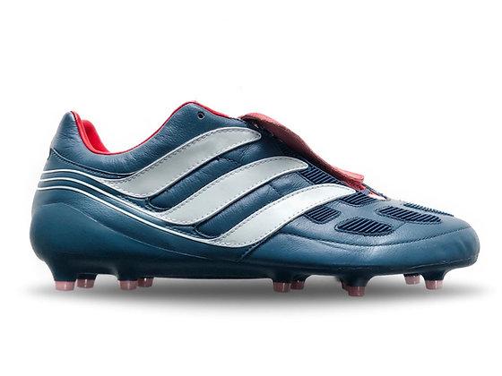 adidas Predator Precision FG Blue Grey / Footwear White / Collegiate Red LTD ED