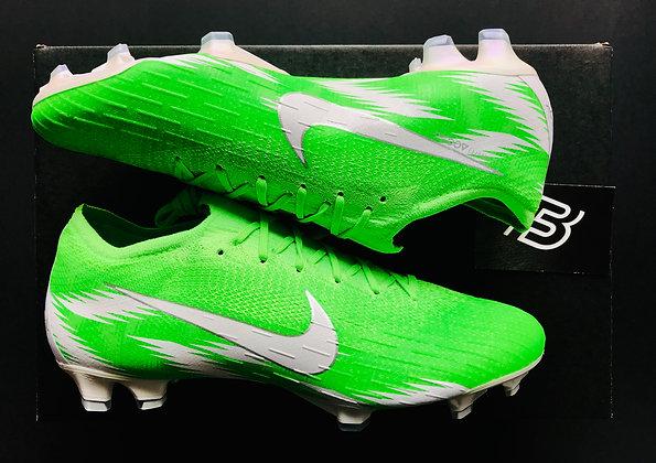 Nike Mercurial Vapor 360 Elite FG Naija Premium iD - Green / White UK Size 8.5