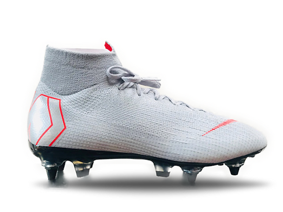 Nike Mercurial Superfly 6 Elite SG-PRO AC Raised On Concrete Grey /Red UK Size 7
