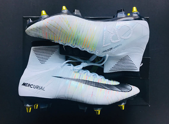 """Nike Mercurial Superfly V CR7  """"Chapter 5"""" SG Anti Clog Football Boots UK Size 9"""