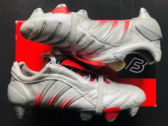 adidas Predator Pulse XTRX SG Beckham Silver / Red