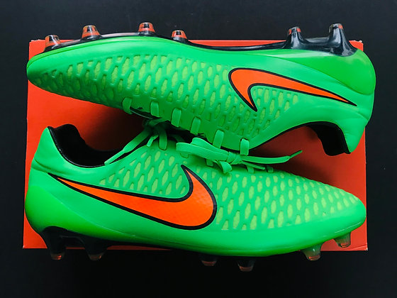 Nike Magista Opus FG Poison Green / Total Orange / Flash Lime / Black