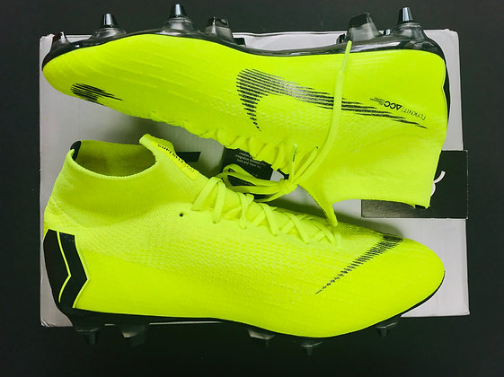 "Nike Mercurial Superfly 360 Elite ""Always Forward"" Fury Volt - SG AC UK Size 8"