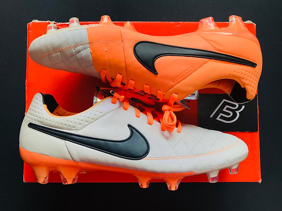 Nike Tiempo Legend V FG Desert Sand / Orange Football Boots Various Sizes