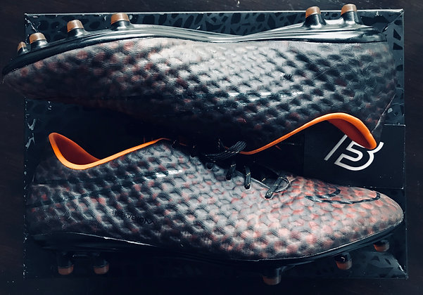 "Nike Hypervenom Phantom ""TRANSFORM"" Black / Orange FG UK 9.5"