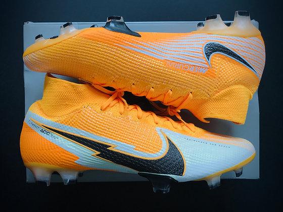 "Nike Mercurial Superfly VII Elite ""Daybreak"" Laser Orange / Black / White FG"