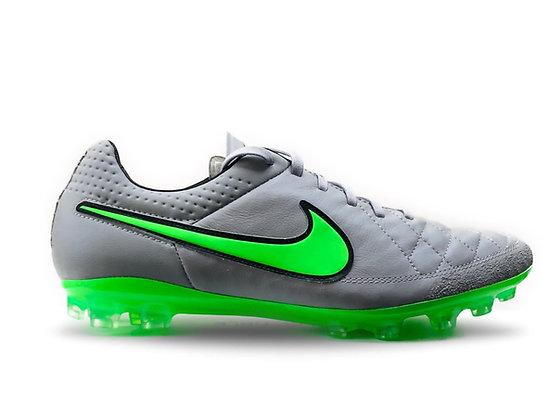 Nike Tiempo Legend V Wolf Grey / Green Strike AG