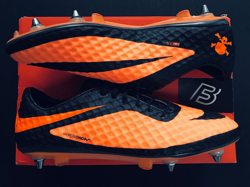 uk availability 536a5 e6ced Nike Hypervenom Phantom I Citrus Orange / Black Size UK 11 SG | bootsfinder