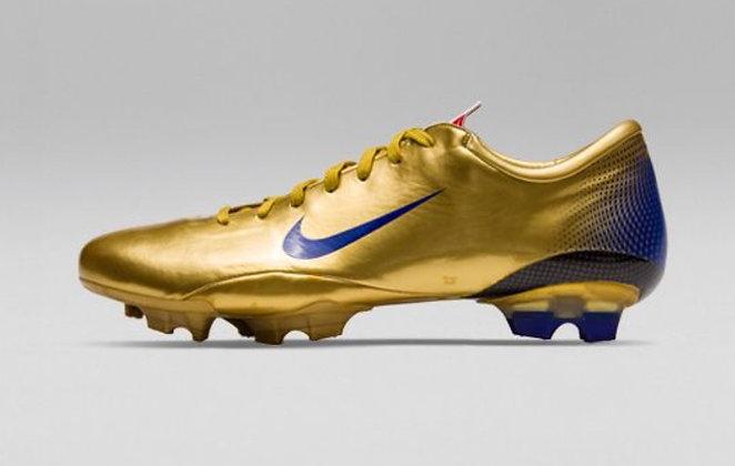 Nike Mercurial Vapor III MV GOLD Italy Edition UK Size 8 FG BNIB