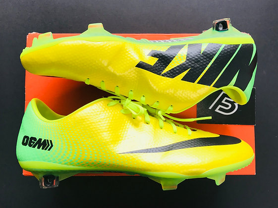 Nike Mercurial Vapor IX 06M R9 Samba Yellow UK FG