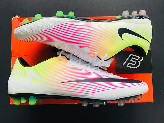 "Nike Mercurial Vapor X ""Radiant Reveal"" White Volt Pink UK Size 9 AG"