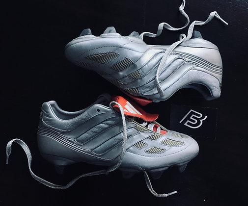 Adidas Predator Precision Platinum 2000 Limited Edition Size UK 7.5 SG - Rare
