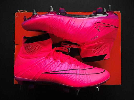 "Nike Mercurial Superfly SG-PRO ""Lightning Storm"" Pack Hyper Pink / Black"