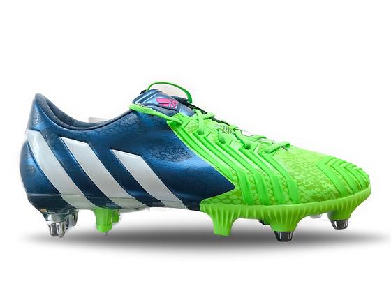 adidas Predator Instinct SG Rich Blue / Running White / Neon Green