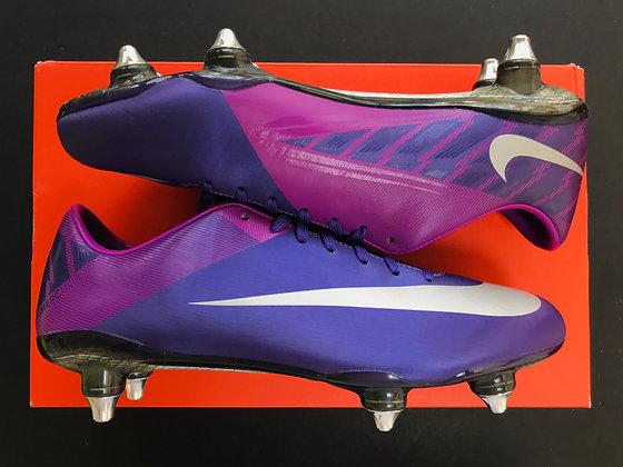 Nike Mercurial Vapor VII SG - Purple / Silver Fibre Glass