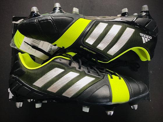 adidas Nitrocharge 1.0 SG Black / Metallic Silver / Electricity