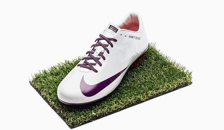 """Nike Mercurial Vapor Superfly I """"wear it proud"""" Size UK 10 - FG"""